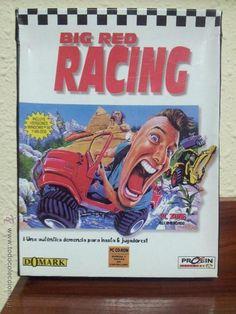 BIG RED RACING - PC - CD-ROM - PROEIN - DOMARK - COMPLETO - COCHES - CAJA DE CARTON