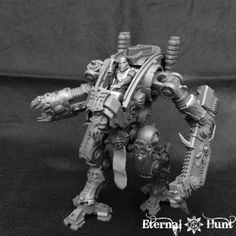 open cockpit A Child for the Warrior King - chaos Armiger Warglaive