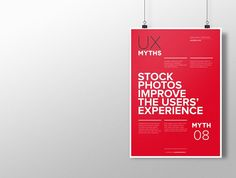 Myth 8: Stock photos improve the users' experience