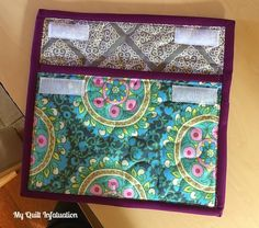 My Quilt Infatuation: Simple Tablet Sleeve