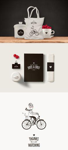 Doce a Dois | Branding, Illustration & Packaging on Behance