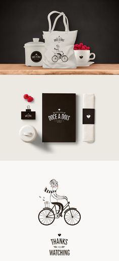 Doce a Dois | Branding, Illustration & Packaging on Behance