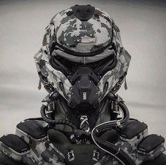 Even Star Citizen Spaceships Gladiators Armor Concept, Concept Art, Otaku, Tactical Helmet, Futuristic Armour, Sci Fi Armor, Future Soldier, Suit Of Armor, Body Armor