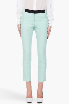 A.L.C Mint Green Collins Pants