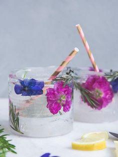 DIY: Ein erfrischendes Eisglas - Pflanzenfreude.de