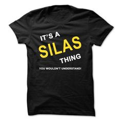 Its A Silas Thing - #funny tshirt #crochet sweater. GUARANTEE => https://www.sunfrog.com/Names/Its-A-Silas-Thing.html?68278