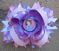 Sofia the First Disney Custom Boutique Hair Bow. $9.99, via Etsy.