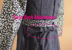 http://www.sewmelodic.com/2014/02/sway-back-pattern-adjustment-in-dress.html
