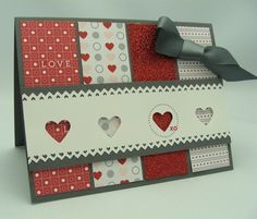 Love Impressions Products  Red Glitter Cover Stock