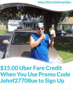 $15.00 Uber fare credit 4 new passengers.  Use Promo Code Johnf27708ue, sign up 2 drive at http://wu.to/3ccVil