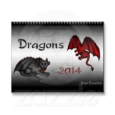 Dragons Calendar 2014 with 12 of my cutest Dragons! Fantasy Posters, Got Dragons, Calendar 2014, Fantasy Dragon, Cool Stuff, Cute, Animals, Products, Cool Things
