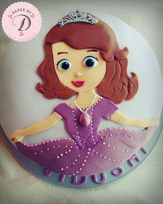 Sofia princess cake, birthdaycake, sofia cake