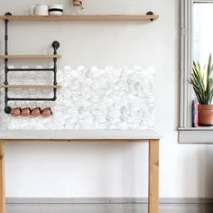 White Marble Hexagons - Free Domestic Shipping Over $99 USD. Each order includes 176 wall decals in total. Order today from UrbanWalls.