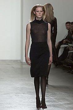 Calvin Klein Collection Fall 2000 Ready-to-Wear Fashion Show - Emily Sandberg, Calvin Klein