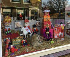 Sinterklaas etalage / decoratie