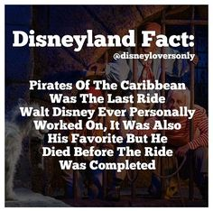 I never knew the movies were based on the ride