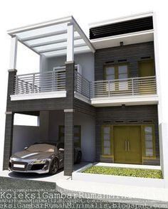55 Trendy Exterior House Renovation Home Plans Colonial Exterior, House Paint Exterior, Exterior House Colors, Modern Exterior, Exterior Doors, Garage Exterior, Exterior Design, Simple House Design, Modern House Design