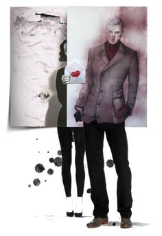 """""""Abstract Doll or Abstract Portrait Set~Contest"""" by kristdee ❤ liked on Polyvore featuring art"""