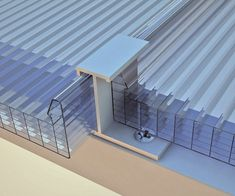 Discover thousands of images about Co-extruded multiwall polycarbonate ARCOPLUS® 626 REVERSÒ by dott. Polycarbonate Greenhouse, Polycarbonate Panels, Pergola With Roof, Patio Roof, Shed Design, Roof Design, Corrugated Plastic Sheets, Basement Entrance, Interior Design Layout