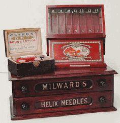 milward.gif (287×294) Milward needle package display case