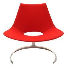 the Scimitar chair by Preben Fabricius & Jorgen Kastholm