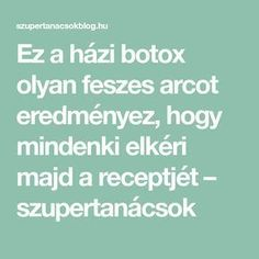 This homemade botox produces a tight face that everyone will ask for his recipe . - - My MartoKizza Botox Brow Lift, Excessive Underarm Sweating, Muscle Disorders, Botox Alternative, Vaseline Beauty Tips, Botox Injections, At Home Face Mask, Prevent Wrinkles, New Skin