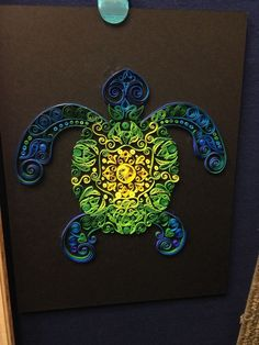 quilled turtle - Google Search