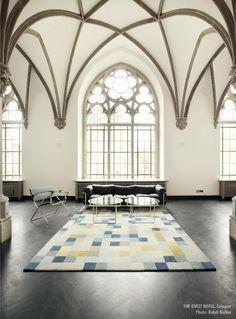 Le Corbusier, Decor Interior Design, Interior Decorating, Interior Ideas, Church Conversions, Famous Interior Designers, Hotel Interiors, Gothic House, Suites