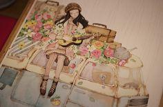 young illustrator dandan Li(李淡淡)from China