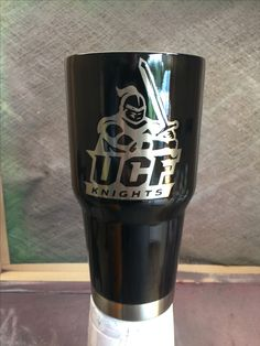 University of Central Florida UCF Custom Powder Coated Cups! No Stickers No Vinyl! 100% Powder Coat! Need a Cup, Hit me Up! The Cup Plug!