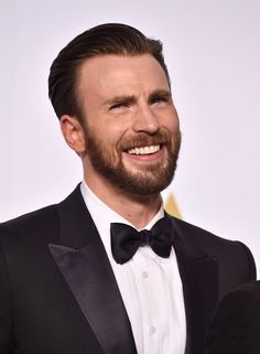 Chris Evans - you know he's up to something here