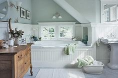 Love the bathtub...don't mind the window as long as it's upstairs and there are no neighbors!  :)