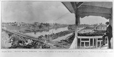 Union Bridge Horse Drawn, Town Hall, World War I, North West, Hamilton, Bridge, Horses, River, History