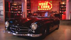 The Bruce Meyer Garage in Beverly Hills is know for the finest and best automobiles ever build.