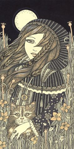 Freyja Signed Ltd Ed Canvas Giclee by AnitaInverarity on Etsy, £90.00