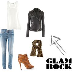 Cool Rock n' Roll Outfit. Fun!