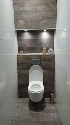 dreamy wc toilet in bathroom ideas for you waaaw 45 Dreamy wc toilet in bathroom ideas for you waaaw 45 badezimmerideen Small Downstairs Toilet, Small Toilet Room, Small Bathroom, Bathroom Ideas, Guest Toilet, Half Bathrooms, Bathroom Crafts, Bathroom Renovations, Bathroom Design Luxury