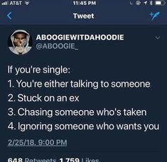 Or you are in a committed relationship with bettering yourself