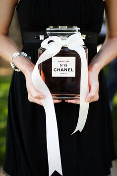 """Chanel"" inspired bridal shower"