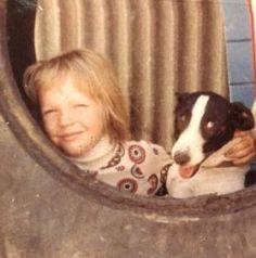 Young Julian and his dog Possum (Photo courtesy Christine Assange)