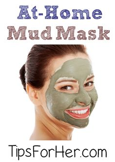 At-Home Mud Mask - Keep your skin nice and tight all summer long with this At-Home Mud Mask.