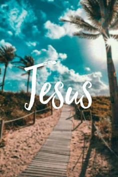 There's something about the name of Jesus that makes me feel good. He's a healer, savior friend and brother. God gave his only begotten son that who should believe in him shall have eternal life. Jesus Wallpaper, Bible Verse Wallpaper, Tumblr Wallpaper, Iphone Wallpaper, Wallpaper Backgrounds, Trendy Wallpaper, God Jesus, Jesus Christ, Christian Wallpaper
