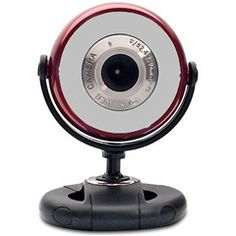Red 1.3MP Webcam for PC  Gear Head WC750RED  PRICE DROP!  Price: $8.23	    #red #webcam
