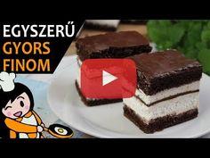 Kinder pingui szelet - Recept Videók - YouTube Tiramisu, Make It Yourself, Cake, Recipes, Youtube, Food, Cherries, Black Forest Cake, Sweet Recipes