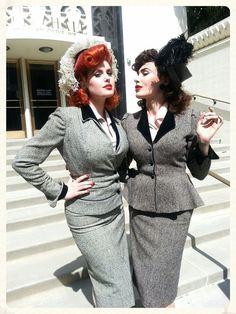 Doris Mayday & Micheline Pitt <3 <3 <3