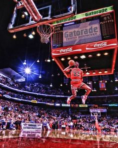 Michael Jordan Dunk Contest