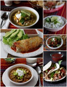 Cinco de Mayo is next Monday so I thought it was the perfect time to feature the deliciousMexican pressure cooker recipes I've posted to help you get your fiesta off to a quick start. Easy Chile C...