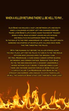 Blurb and back cover of The Cursed Gift.