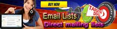 Email databases for direct mailing.