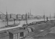 1873 - Port de Rouen. Photographe : J. Duclos